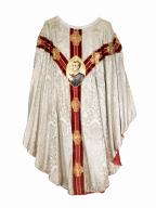 chasuble : ornement blanc n°2