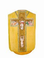 chasuble : ornement doré n°2