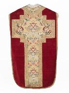 chasuble : ornement rouge