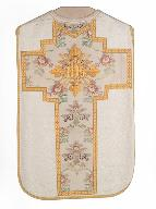 chasuble, bourse de corporal : ornement blanc n°2
