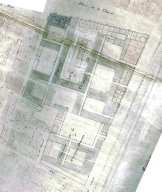 Cadastre dit napoléonien, 1831 : section K dite de Bellecour. Plan AC Lyon. 3 P 964