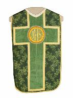 chasuble, voile de calice : ornement vert n°3