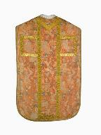 chasuble, étole, manipule : ornement rose n°1