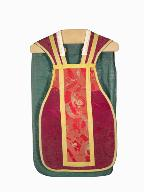 chasuble, étole : ornement rouge n°1