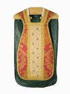 chasuble : ornement rouge n°6