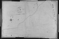 Plan cadastral ancien, 1826. Section B1 de Sainte-Agathe, échelle originale 1/2500e.