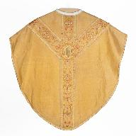 chasuble : ornement doré n°3
