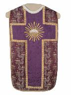 chasuble, voile de calice : ornement violet