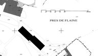 Plan masse, d'après le plan cadastral d'Arâches-la-Frasse, section CO1, 2006