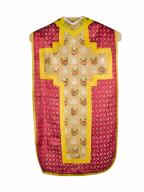 chasuble, étole : ornement rouge