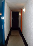Couloir de distribution des appartements