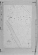Extrait du plan cadastral de 1823, section C dite de Saint-Sorlin.