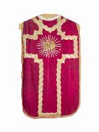 chasuble : ornement rouge n°2