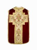 chasuble : ornement rouge n°3