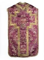 chasuble, manipule : ornement violet