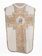 chasuble, étole, voile de calice : ornement blanc