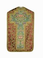 chasuble, étole : ornement rouge n°3