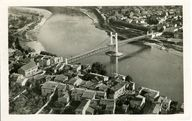 Le Rhône et le pont / Cellard édit. Lyon : Cellard, [avant 1950]. 1 impr. photoméc. (carte postale) : n. et b. (MdFR. Collection Rondeau, CP RON 1069)