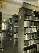 Bibliothèque, magasin, photographie ancienne, ca 1945