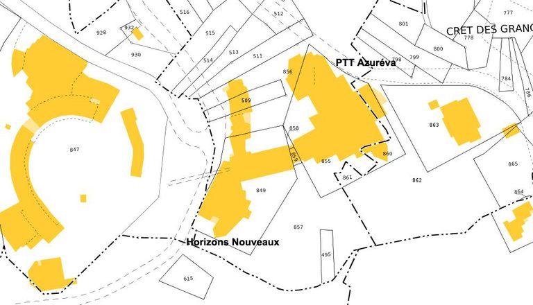 Gertrude centre de loisirs horizons nouveaux villages de vacances horizons nouveaux - Plan de masse et plan de situation ...