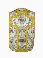 chasuble, voile de calice : ornement blanc